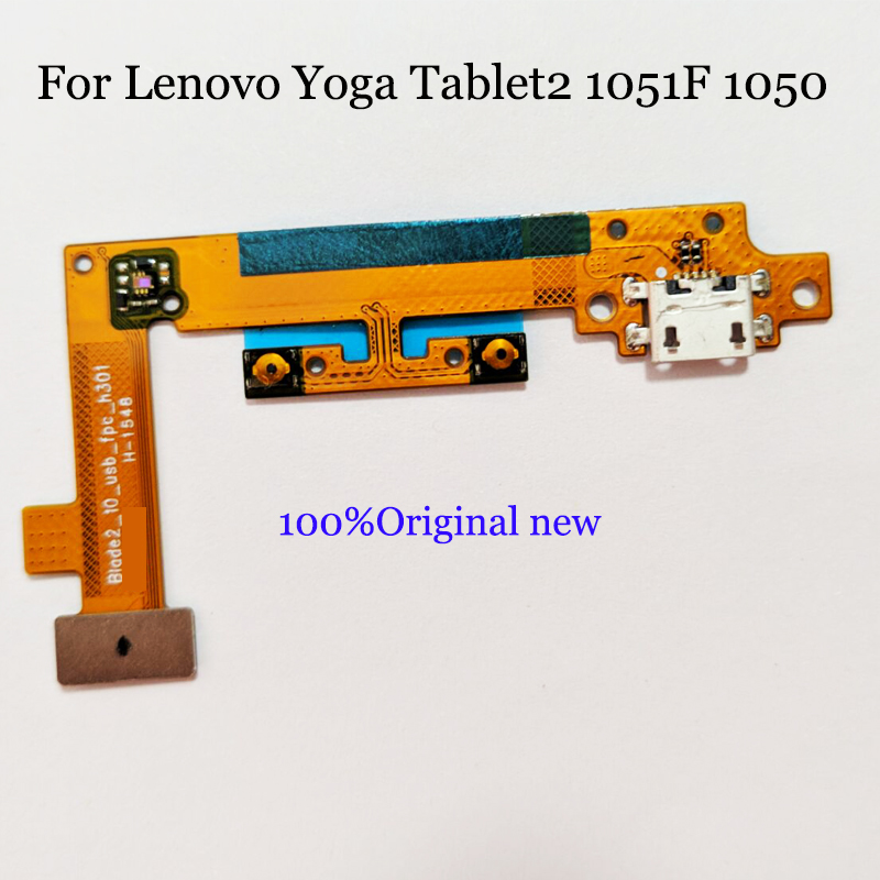 Новый Micro Зарядное устройство Разъем доска для lenovo Yoga Tablet 2 1050 1050F зарядка через usb док Порты и разъёмы Flex ленты шлейф