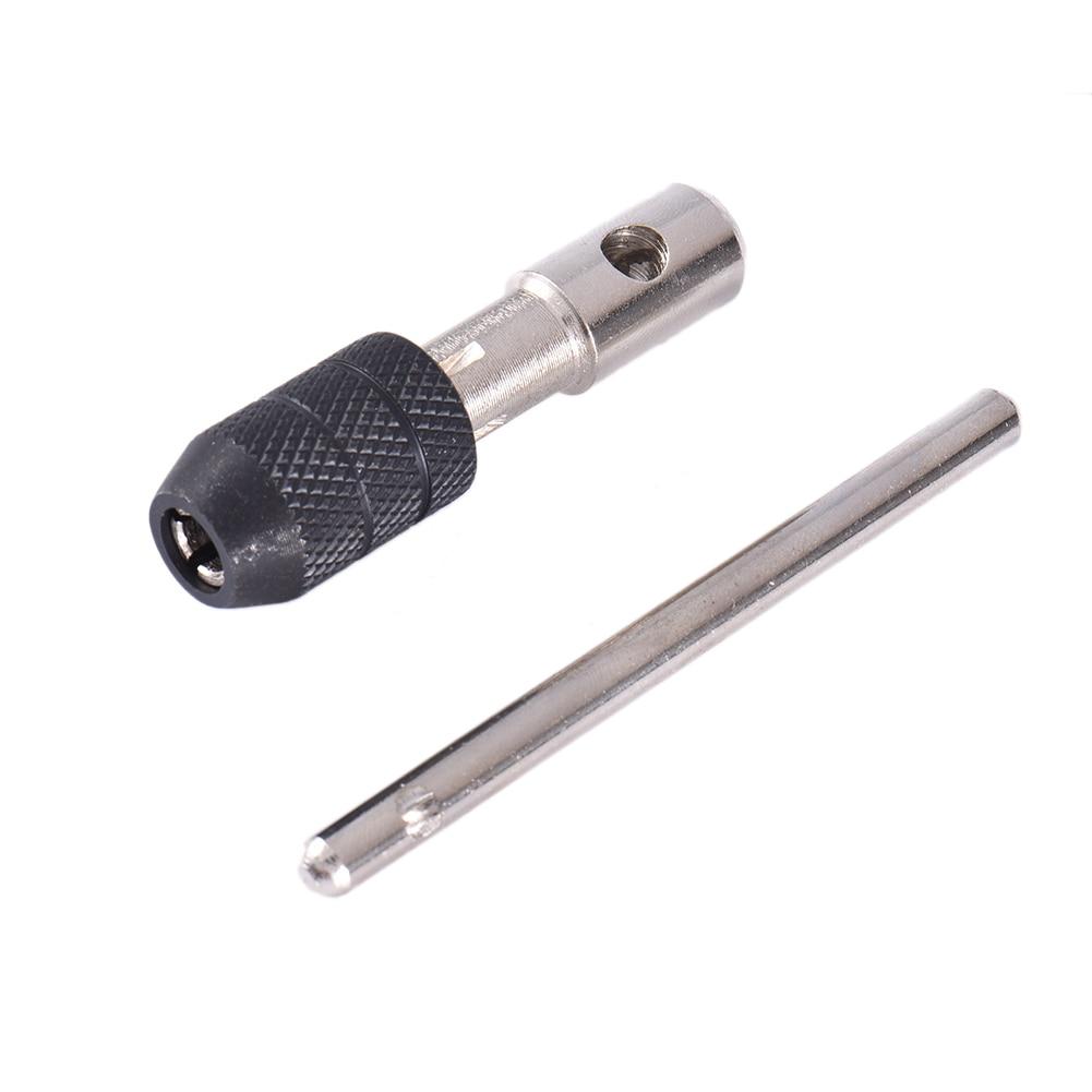 Новейший Т-образный Реверсивный одинарный гаечный ключ инструмент для нарезания резьбы M3-M8 Отвертка Держатель крана ручной инструмент