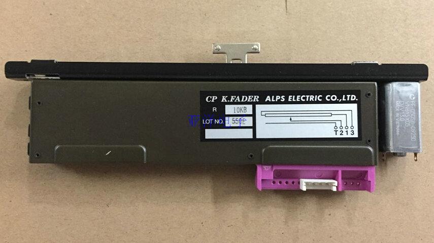 Japan's imports of ALPS reverb sliding straight- sliding potentiometer B10K RSA0K11V901S with motor drive