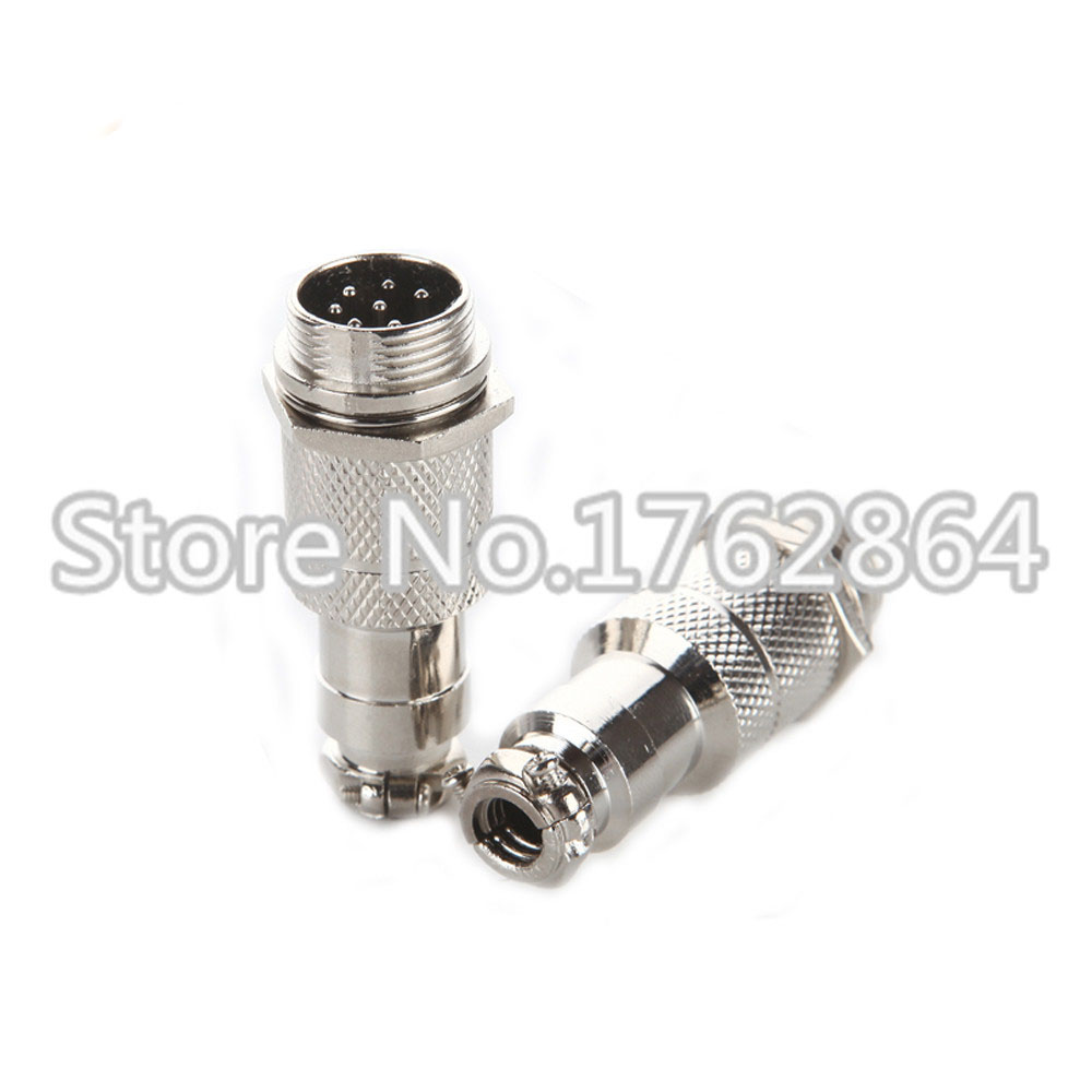 4Pin GX16 4 16mm Male Female Butt joint Connector kit GX16 Socket Plug Aviation plug interface in Connectors from Lights Lighting