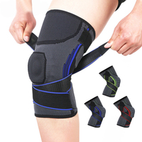 New 1Pair Basketball Knee Pads Sleeve Brace Elastic Kneepad Protective Gear Patella Foam Support Volleyball Support