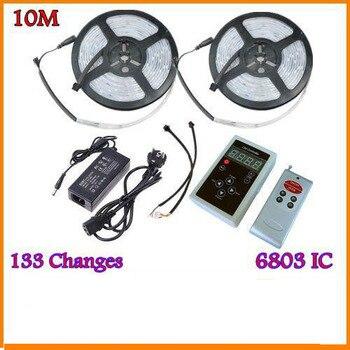 DC5-24V WS2812B WS2811 WS2813 6803 USC1903 IC Digital direccionable LED  tira de música controlador