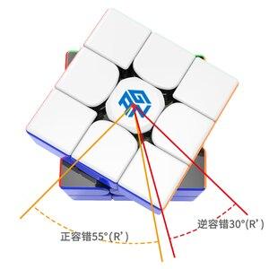 Image 4 - מכירה לוהטת מקורי Gan356 R מעודכן Rs 3x3x3 קוביית גנז 356R קוביית קסם מקצועי גן 356 r 3x3 מהירות טוויסט צעצועים חינוכיים