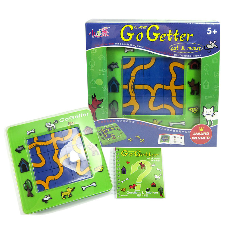 Go Getter (Cat catch mouse)Puzzle Board Game Cat and Mouse Family/Party Parents with Chi ...