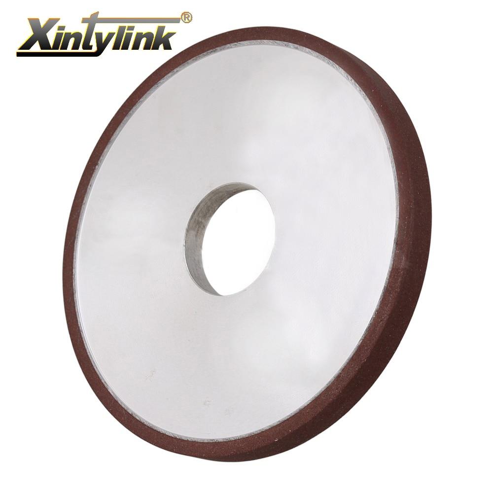 Xintylink durable diamant enduit meule parallèle 180 grit cutter grinder pour carbure métal 200mm 180mm 150mm 125mm 100mm