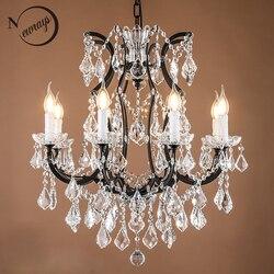 Loft Retro Vintage Big Kristall Kronleuchter Lustre Moderne Hängende Lampe E14 LED 110V 220V Beleuchtung Für Küche Wohnzimmer zimmer Schlafzimmer