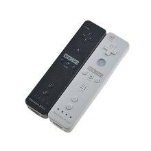 Built In Motion Plusรีโมทคอนโทรลไร้สายGamepad ControllerสำหรับNintendo Wii Remote Controleจอยสติ๊กJoypad