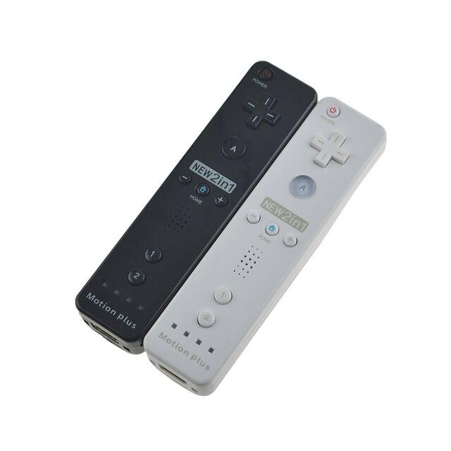 תנועה בתוספת אלחוטי מרחוק Gamepad בקר עבור Nintend Wii מרחוק Controle ג ויסטיק Joypad