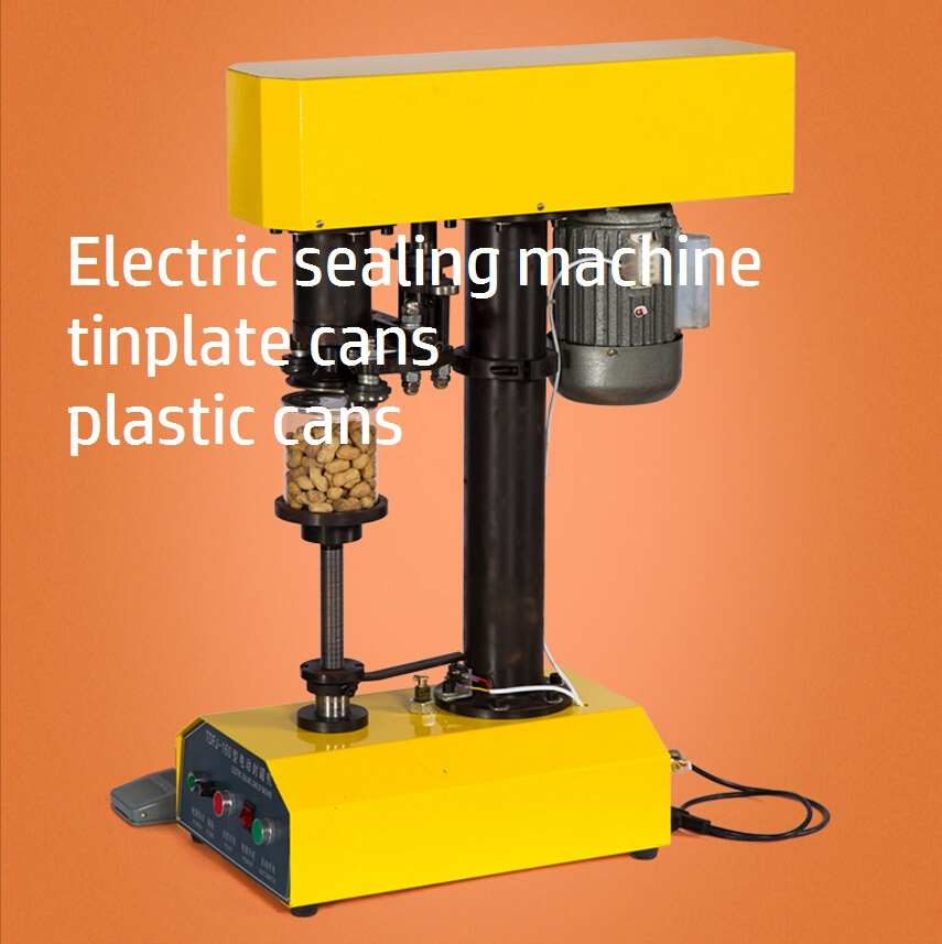 Electric sealing machine of tinplate cans cans sealing machine plastic cans