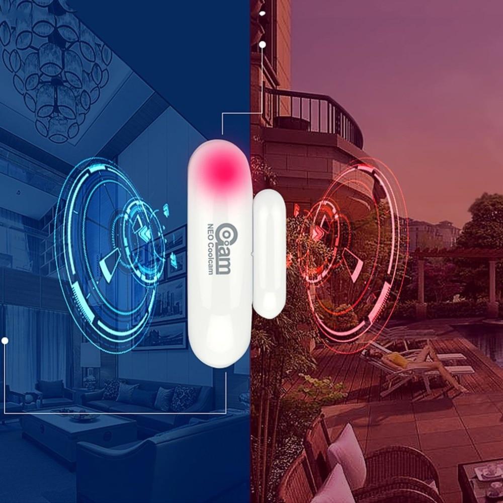 Z-wave Door Window Sensor Detect Door Status Intrusion Detection Z-wave Device Compatible 300 Series And 500 Series
