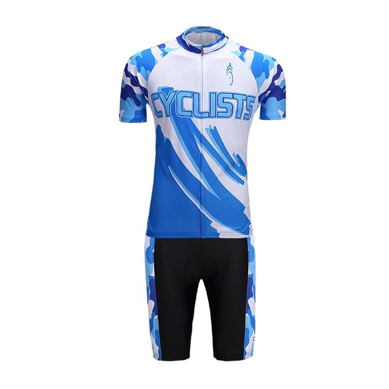 2017 été cyclisme maillot ensemble vêtements vélo Bicicleta Ropa Ciclismo Hombre Mujer Roupa Ciclismo Tenue Cycliste Sport maillots
