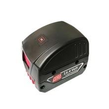 เปลี่ยนแหล่งจ่ายไฟแบบ dual USB สำหรับ Bosch 14.4 โวลต์ BAT607 18 V LI BAT620 สไลด์แบตเตอรี่ USB Charger USB converter