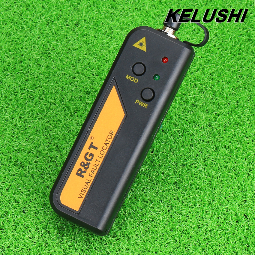 KELUSHI 10mw FTTH Mini Type Fiber Optic Visual Fault Locator Red Laser Tester Testing Tool with