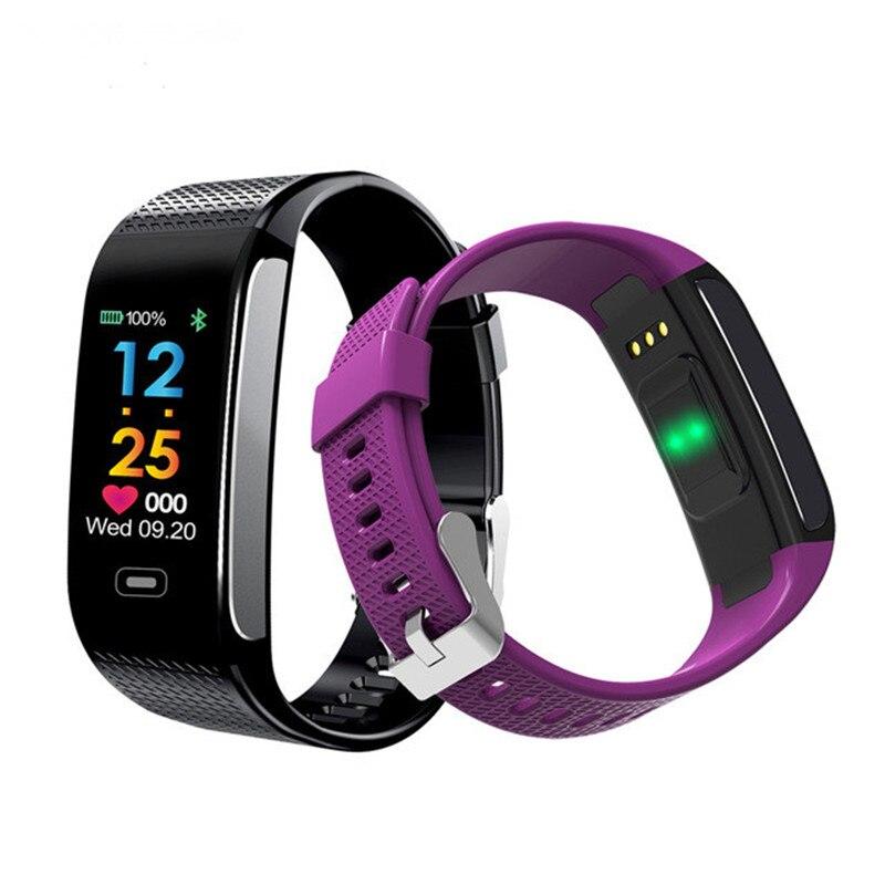 NEW Smart Band Sleep Monitor Heart Rate Wrist Watch Fitness Bracelet Tracker Pedometer Smart Wristband Color Screen Smart Watch