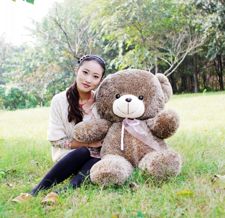 huge lovely plush teddy bear toy big hedgehog bear doll new creative bear doll gift about