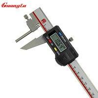עובי צינור GUANGLU הדיגיטלי Caliper 0-150 מ