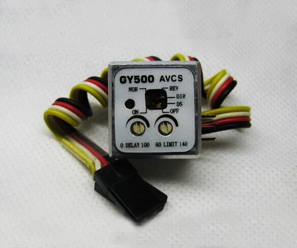 Free Shipping Mini Heading lock Gyro Gyroscopes GY500 AVCS for RC Helicopter Car boat fixed-wing aircraft free shipping flight controll gyro 3d avcs for fixed fpv half set for eagle a3 super ii k5bo
