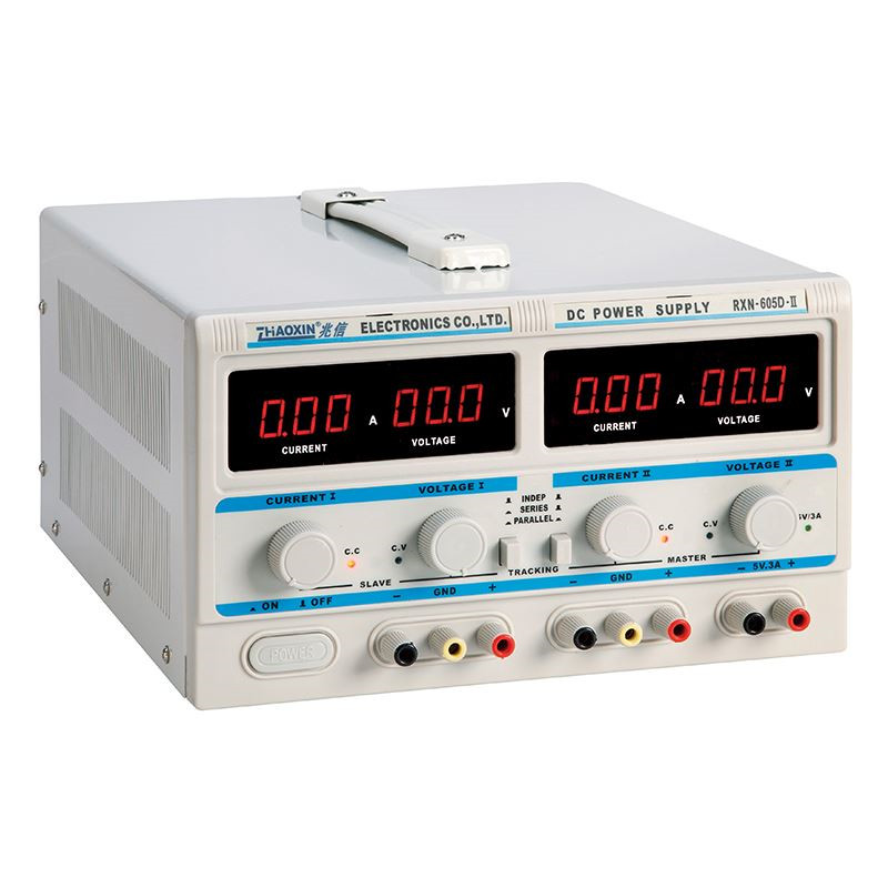 RXN-605D-II digital adjustable DC power supply 60V5A two outputs In series and in parallel Output fixed output 5V3A rxn 305d ii 0 30v 0 5a two circuit output cocurrent voltage stabilized source fixed output 5v 3a adjustable dc power supply