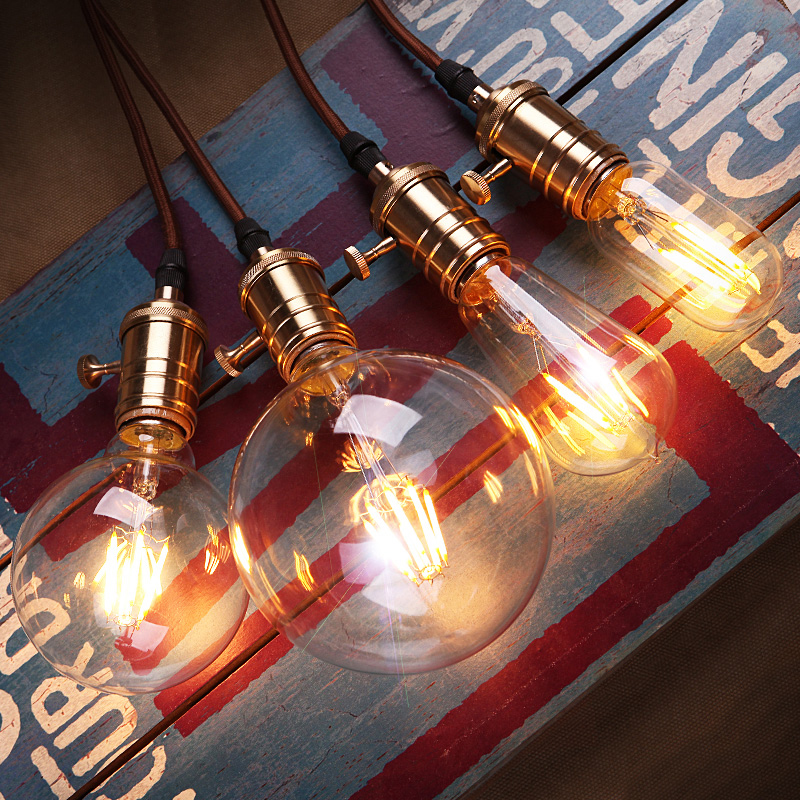 Lightinbox Retro Edison Bulb Led E27 40W Incandescent Bulbs 220V For Decor Antique Pendant Lights For Home Vintage Lamp