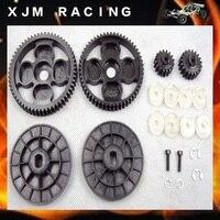 High Speed Metal Gear Kit 58T/16T&amp 55T/19T spur pinion sets Fits HPI Baja 5B 5T 5SC SS