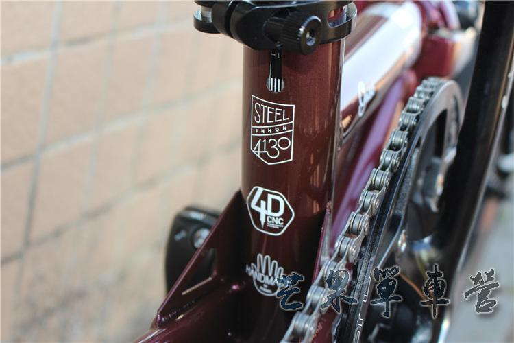 """HTB1VVuKXPnuK1RkSmFPq6AuzFXaL Fnhon CR-MO Steel Folding Bike 16"""" Minivelo Mini velo 9 Speed Bike Bicycle overall bike V Brake"""