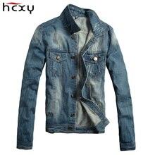 2017 fall and spring mens designer clothes new large size casual denim jacket men windproof jeans jacket men