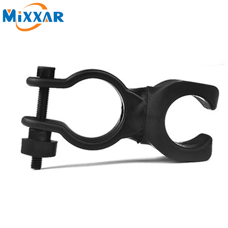 ZK50 High Quality Led Bicycle Lights Torch Clip Clamp Universal 360 Swivel Bicycle Bike LED Flashlight Mount Bracket Holder