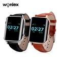 Wonlex EW200 Смарт-часы с BD/WiFi/LBS/SOS/GPS позиционирование Безопасности часы Спорт Бег сотовый телефон часы Пульс для пожилых