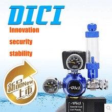 DICI аквариум CO2 Регулятор, DICI, катушки растений! электромагнитный Клапан, новый дизайн двойной стабильности