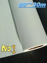 """60 """"* 30m poliéster 600d * 600d eco superfície matte solvente do rolo da lona do inkjet"""