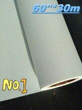 Rollo de lona de inyección de tinta ecosolvente de poliéster, superficie mate, 60x30m, 600d x 600d