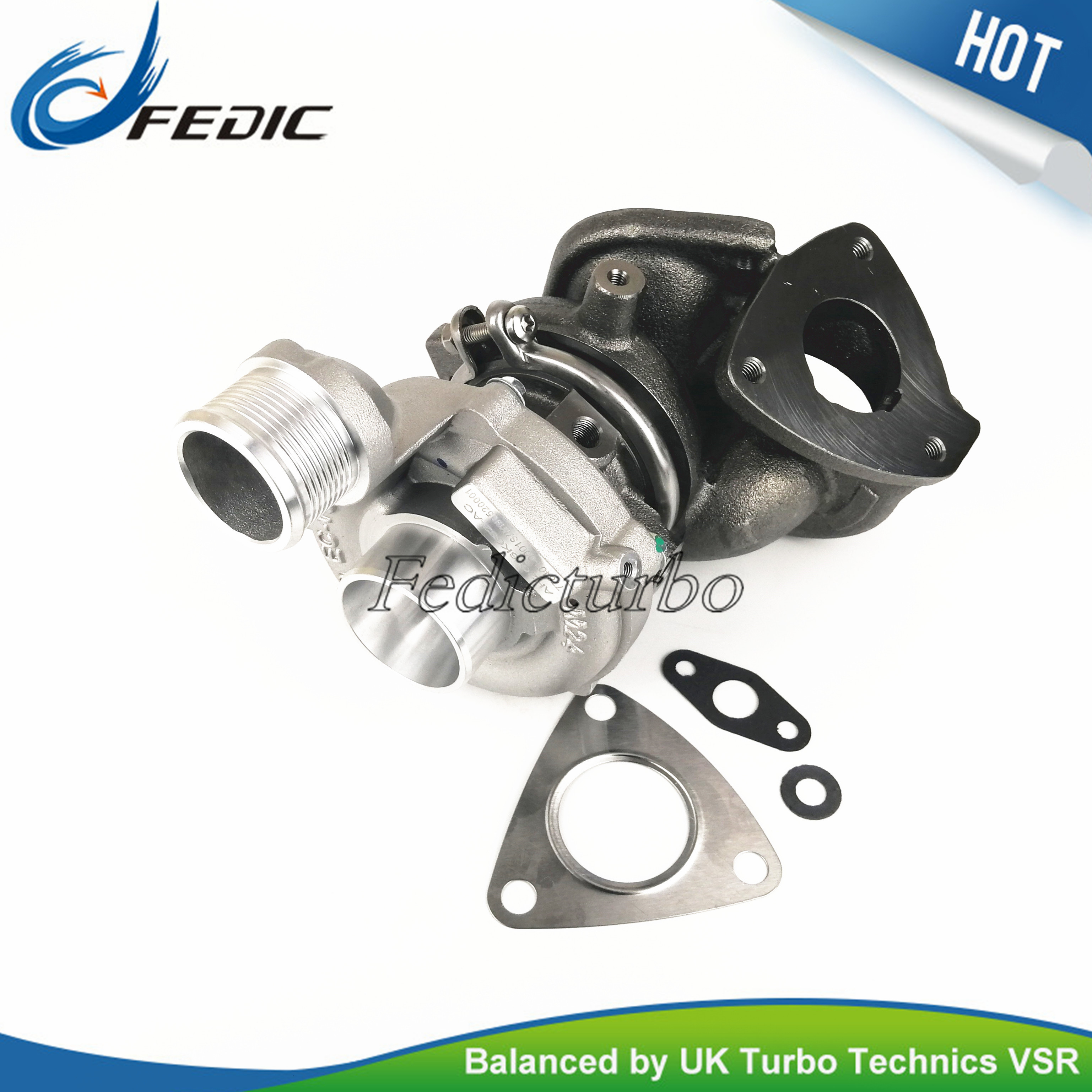 Without actuator Turbocharger GT1444Z 778401 Turbine full turbo for Land Rover Discovery IV TDV6 3 0