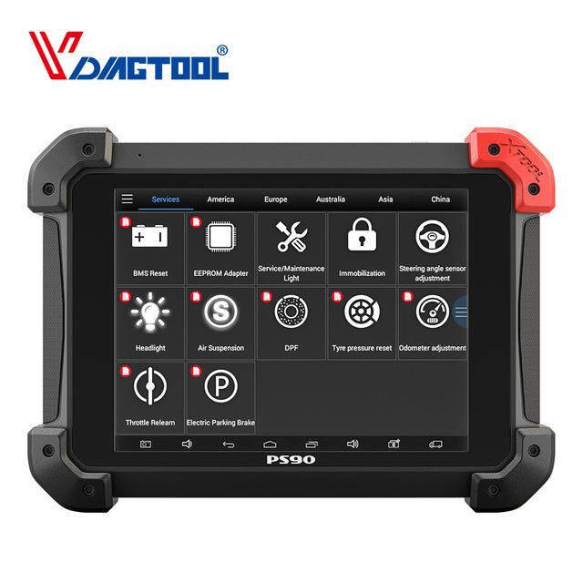 100% Original XTOOL PS90 Car Diagnosis System Tool Lifetime Online Update Code Reader Key Programmer Same Like EZ500 EZ400 Pro 1