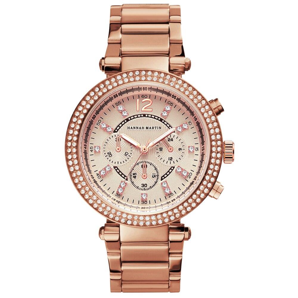 Women Rhinestones Watches Top Brand Luxury Business Fashion Female Diamond Casual Quartz Waterproof Wristwatch Relogio Feminino