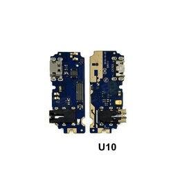 Nowy mikrofon moduł + Port ładowania USB giętki kabel do płytki drukowanej złącze części dla Meizu U10 U20 wymiana