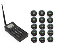 Free shipping! Coaster pager, 1pc POCSAG keypad transmitter, 15pcs text message pager, guest paging system, queue wireless call