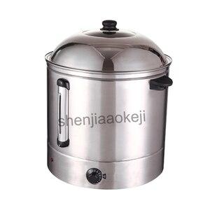 Sweet Corn Steamer electric steamer AG-48 Commercial corn bucket steamer kitchenware Stainless steel 220v 2500w 1pc