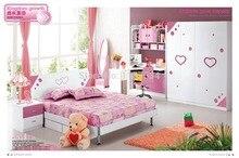 916 # современный стиль детская спальня мебель деревянная мебель для спальни