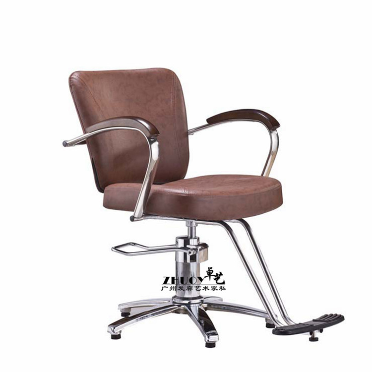 Hairdressing chair. Hair salons dedicated hairdressing chair. Barber's chair