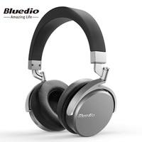 Bluedio Vinyl Premium Draadloze Bluetooth hoofdtelefoon Dual 180 graden rotatie ontwerp op de oor headset