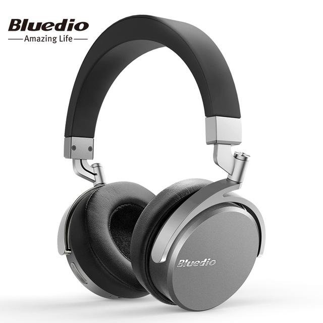 Bluedio vinilo premium auriculares inalámbricos bluetooth dual de 180 grados de rotación de diseño en la oreja auricular