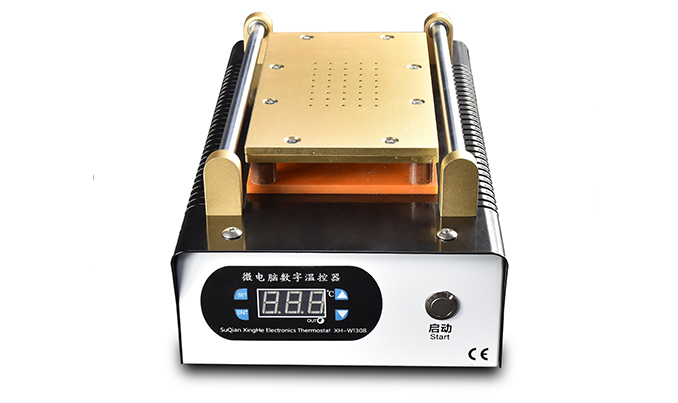 Newest Built-in Pump Vacuum Metal Body Glass LCD Screen Separator Machine Max 7 inches 110/220V built in air vacuum pump ko semi automatic lcd separator machine for separating assembly split lcd ts ouch screen glas