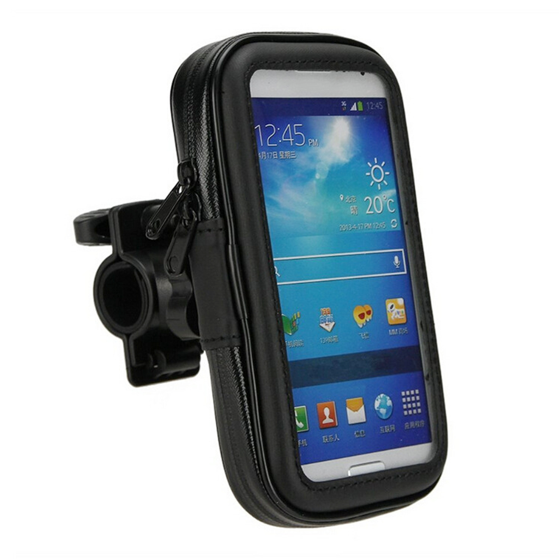 Hot New Bicycle Motorcycle MTB Phone Holder Mobile Stand Support GPS Bike Holder Waterproof Bag Bicycle Accessories