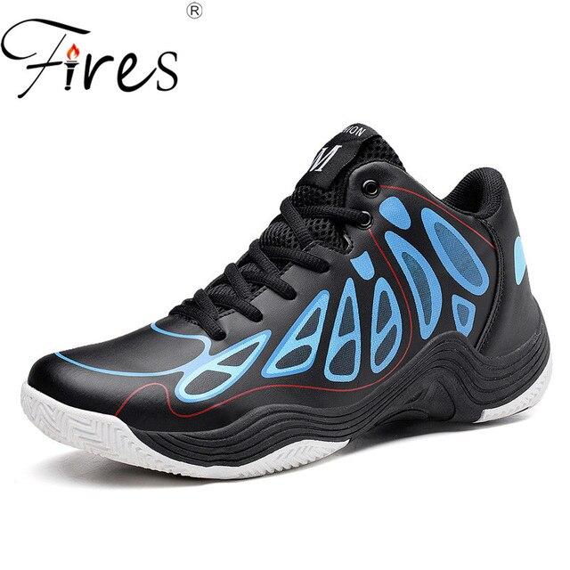 Срабатывает Для мужчин Баскетбол Спортивная обувь удобные запустить Обувь уличная спортивная обувь из искусственной кожи школа Обувь человек кроссовки Zapatillas