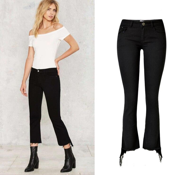 Online Get Cheap Black Jeans Women Bootcut -Aliexpress.com ...