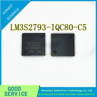 2 pçs/lote LM3S2793-IQC80-C5 LM3S2793-IQC80 LM3S2793 LQFP-100