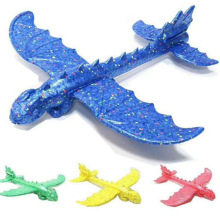 48 см детские игрушки «сделай сам» ручной бросок тренировочный Дракон Пена модель аэроплана Как приручить дракона летящий самолет Toys самолет игрушки для детей
