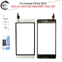 Touch Panel For Huawei P8 lite 2015 Touch Screen Glass Sensor Digitizer With FPC Flex Cable ALE-L21 ALE-L02 HI6210SFT ALE-L23