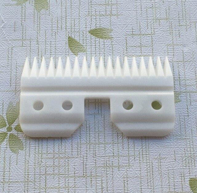 Ücretsiz kargo 20 adet/grup evcil hayvan kırkma makası seramik kesme hareketli bıçak ücretsiz kargo standart oster A5 bıçak