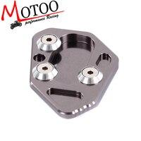 Motoo-CNC алюминиевая боковая подставка для мотоцикла, увеличивающая пластина, подставка для BMW F800R HP2 R1200S